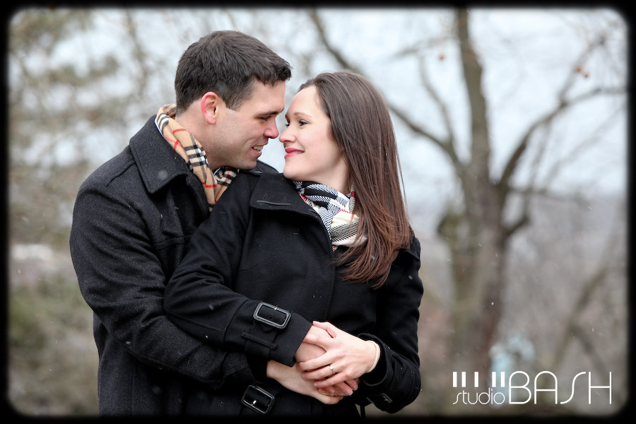 Elise and Craig's Winter Engagement