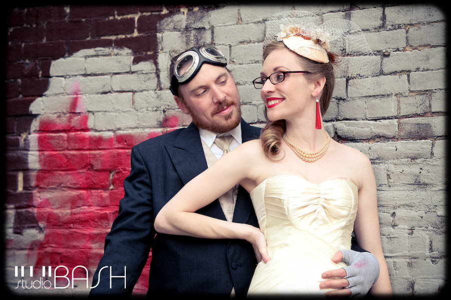 Lauren and Evan's Steampunk Wedding