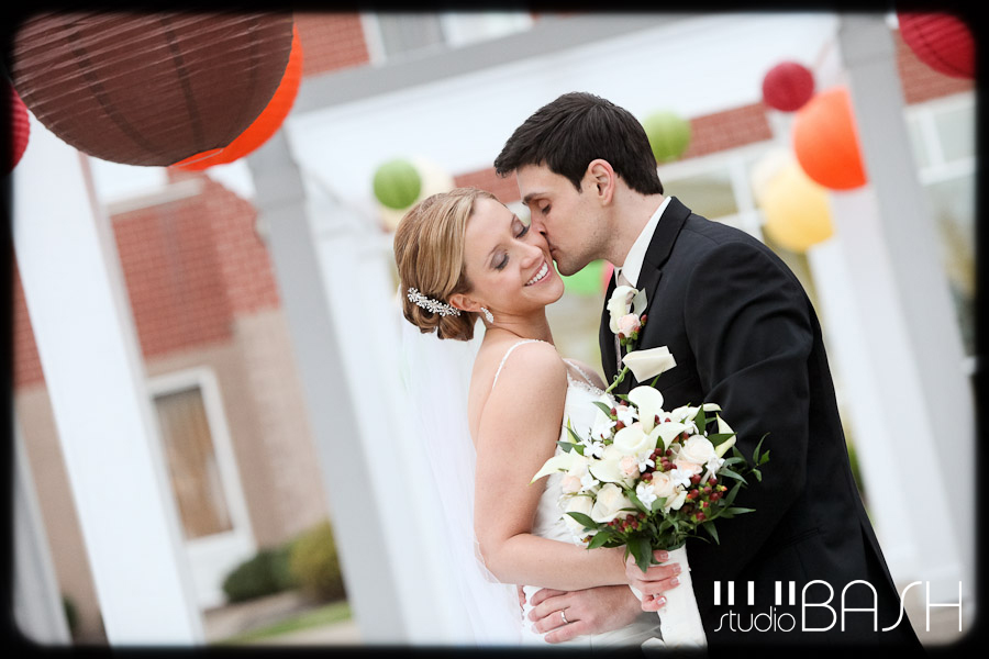 Ashley and Ryan's Hilton Garden Inn Southpointe Wedding