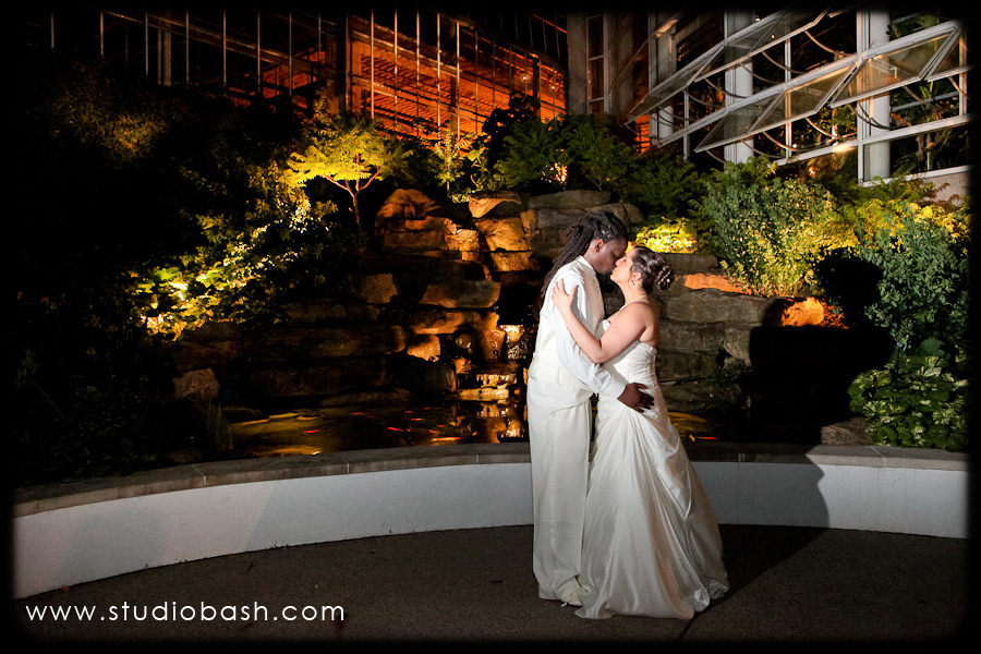 Krista and Rashawn's Phipps Conservatory Wedding