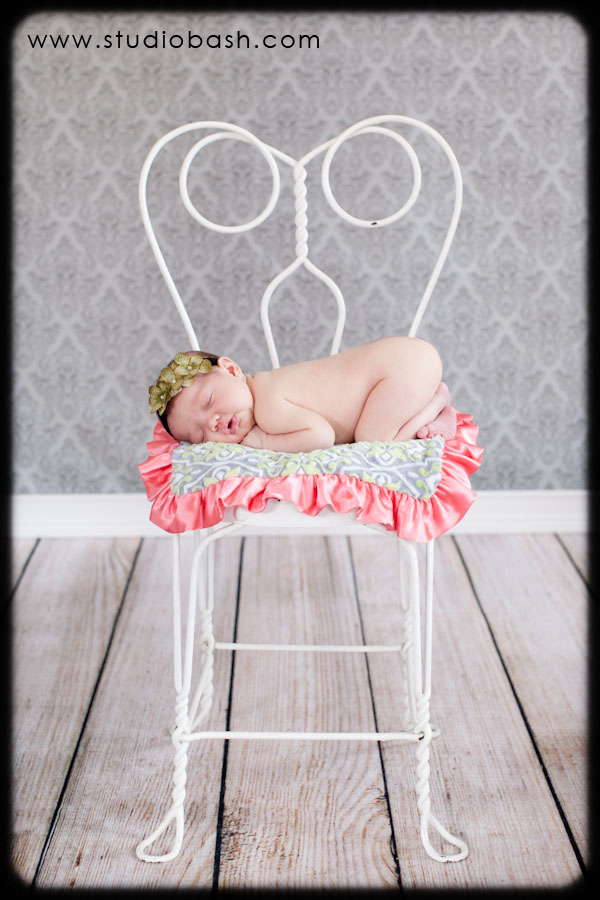 Baby Emmalyn's First Photo Shoot