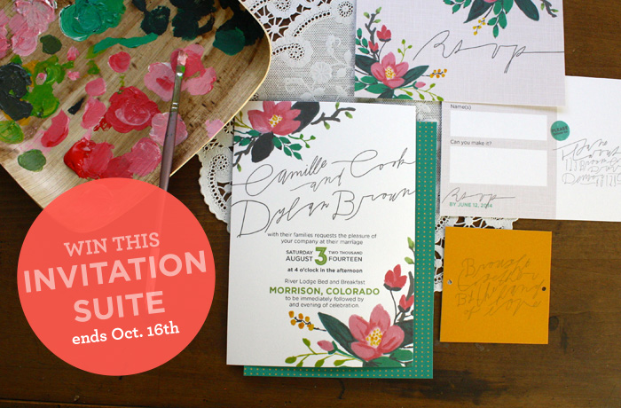 Enter to WIN Fabulous Invitations from Lauraland Design!