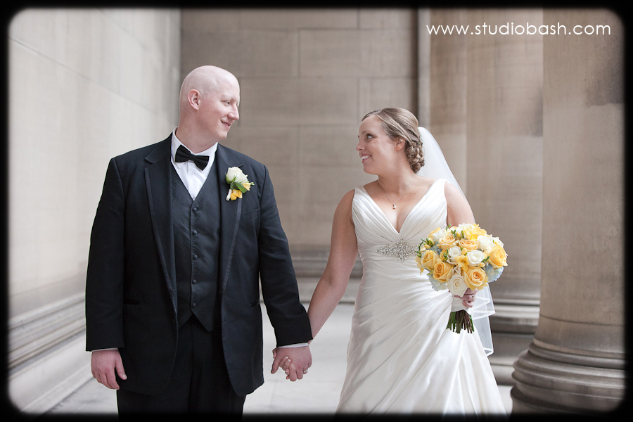 Christy and Vince's Grand Hall at the Priory Wedding