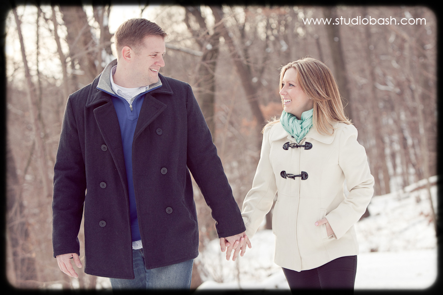 Kristen and Rob's Winter Engagement