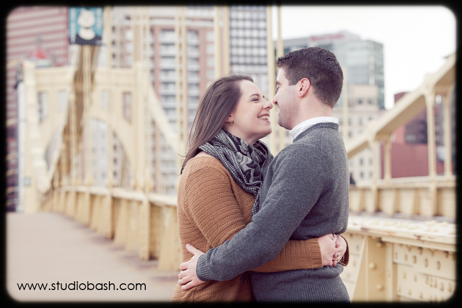 Lia and Mike's Pittsburgh Engagement