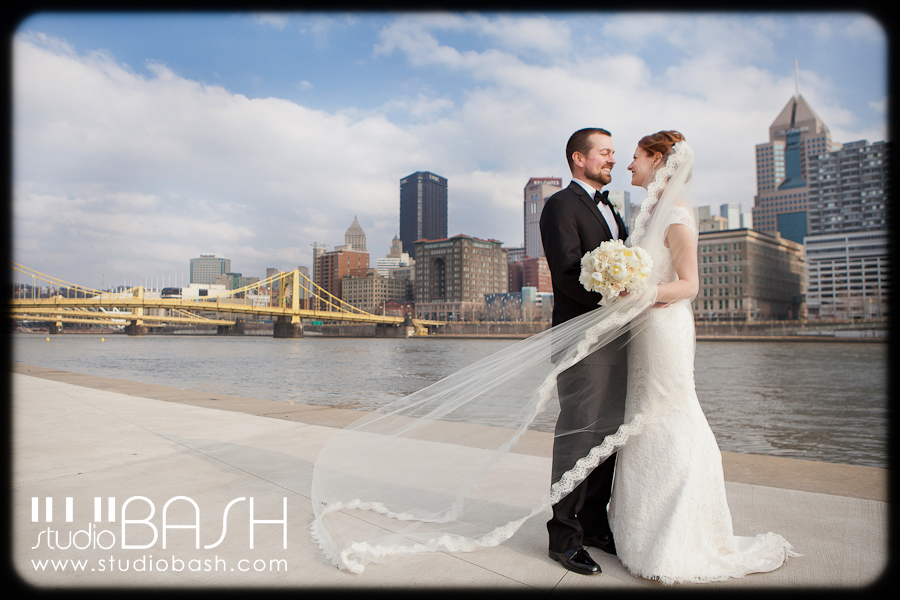 Laura and Jim's PNC Park Wedding