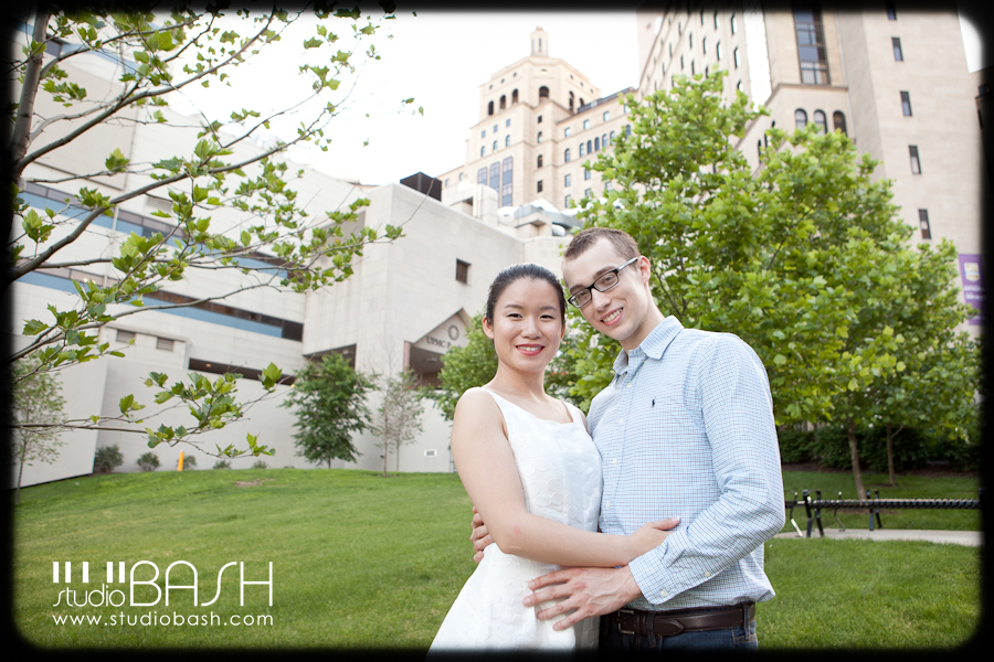 Dongning and John's Engagement ~ Pittsburgh Wedding Photographer