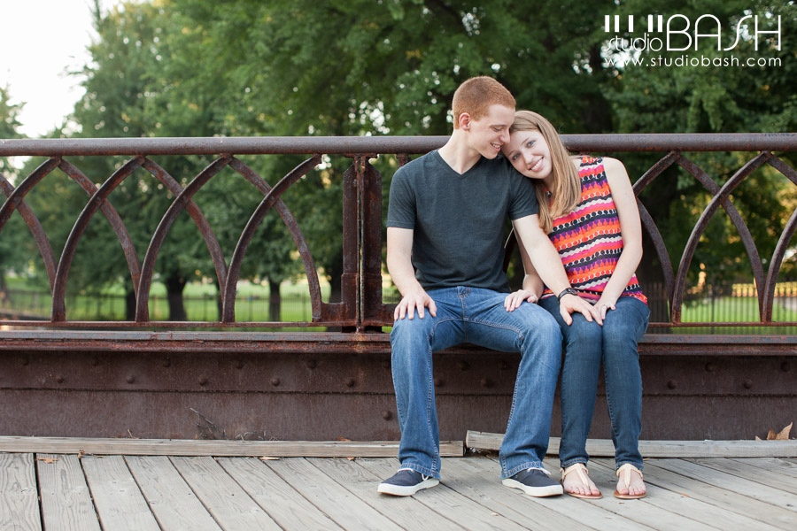 Kayleigh and Andrew's North Shore Engagement