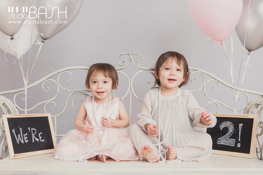 Madeline and Isabel are TWO!