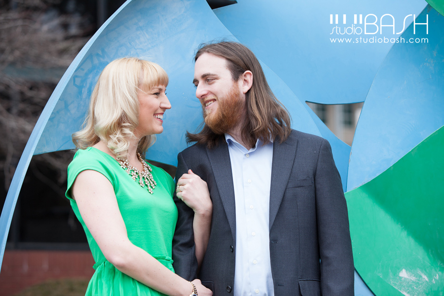 Pittsburgh North Shore Engagement | Sara and Matt are ENGAGED!