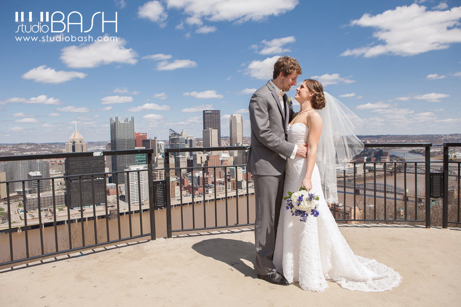 St Mary of the Mount Wedding | Pittsburgh | Ally and Russ