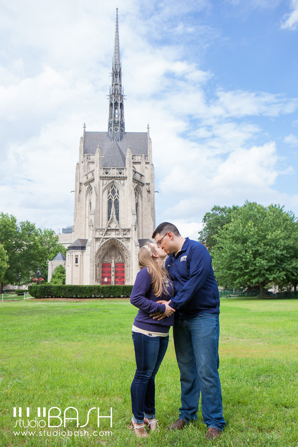 Pitt Engagement Session | Katina + Chris