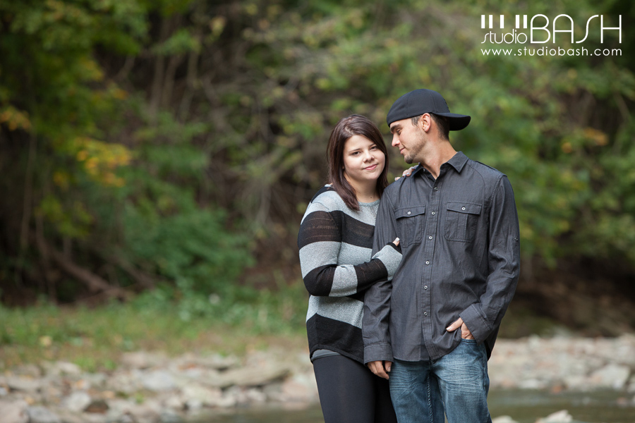 Pittsburgh Woods Engagement Photos | Danielle and Josh