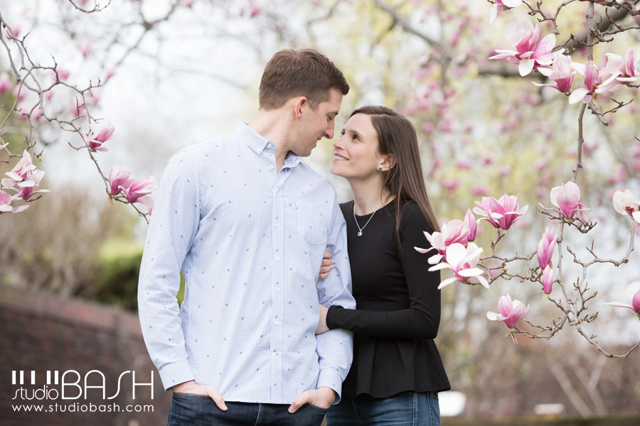 Pittsburgh Mellon Park Engagement Photography | Liza and John