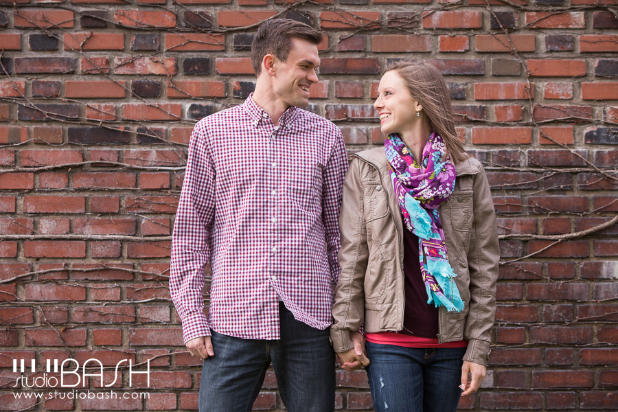 Pittsburgh Bridges Engagement Photos – Kayla and Matt