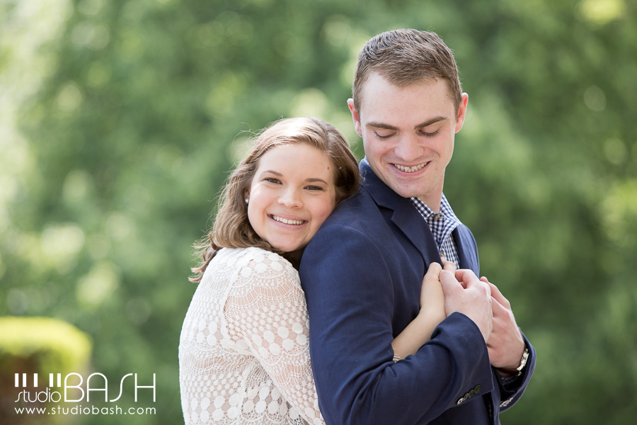 Pittsburgh Oakland Engagement Photos – Christa and Kevin
