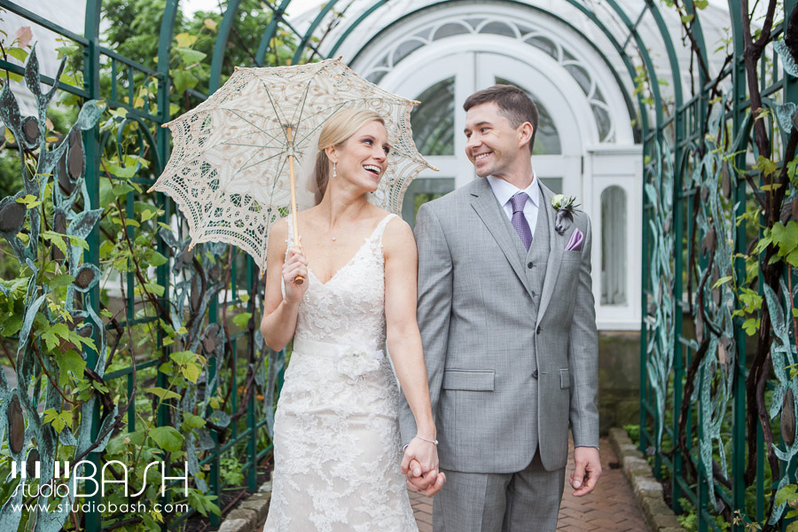 Phipps Conservatory Wedding Photos | Jen and Jim