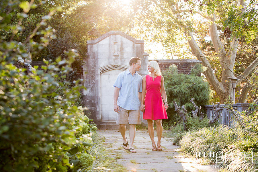 Pittsburgh Mellon Park Engagement Photos | Casey and Tom