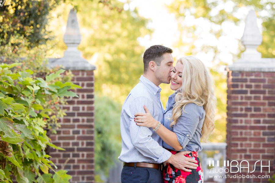 Pittsburgh Mellon Park Engagement | Brittany and Mike
